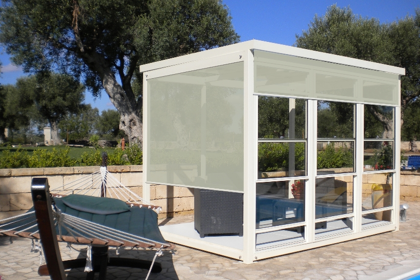 giardino d'inverno - porte & finestre - Piccolo Giardino Sinonimo