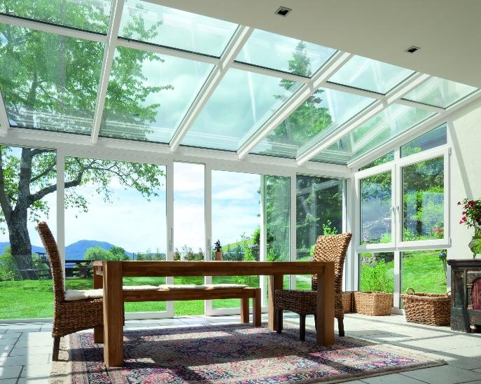 Giardino Dinverno Veranda : Giardino d inverno porte finestre