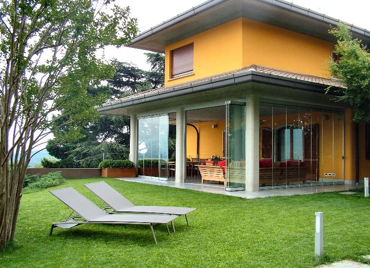 Giardino d inverno porte finestre - Esposizione solare casa ...