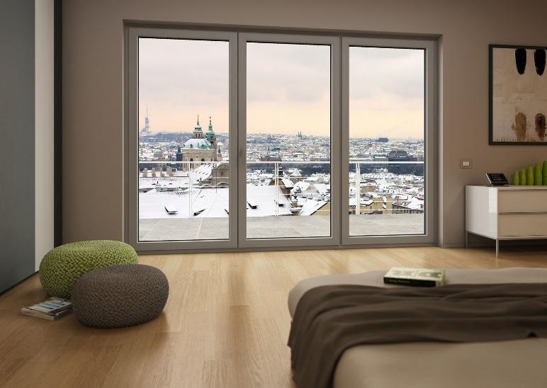 La stanza dei sogni porte finestre Finestra grande scorrevole